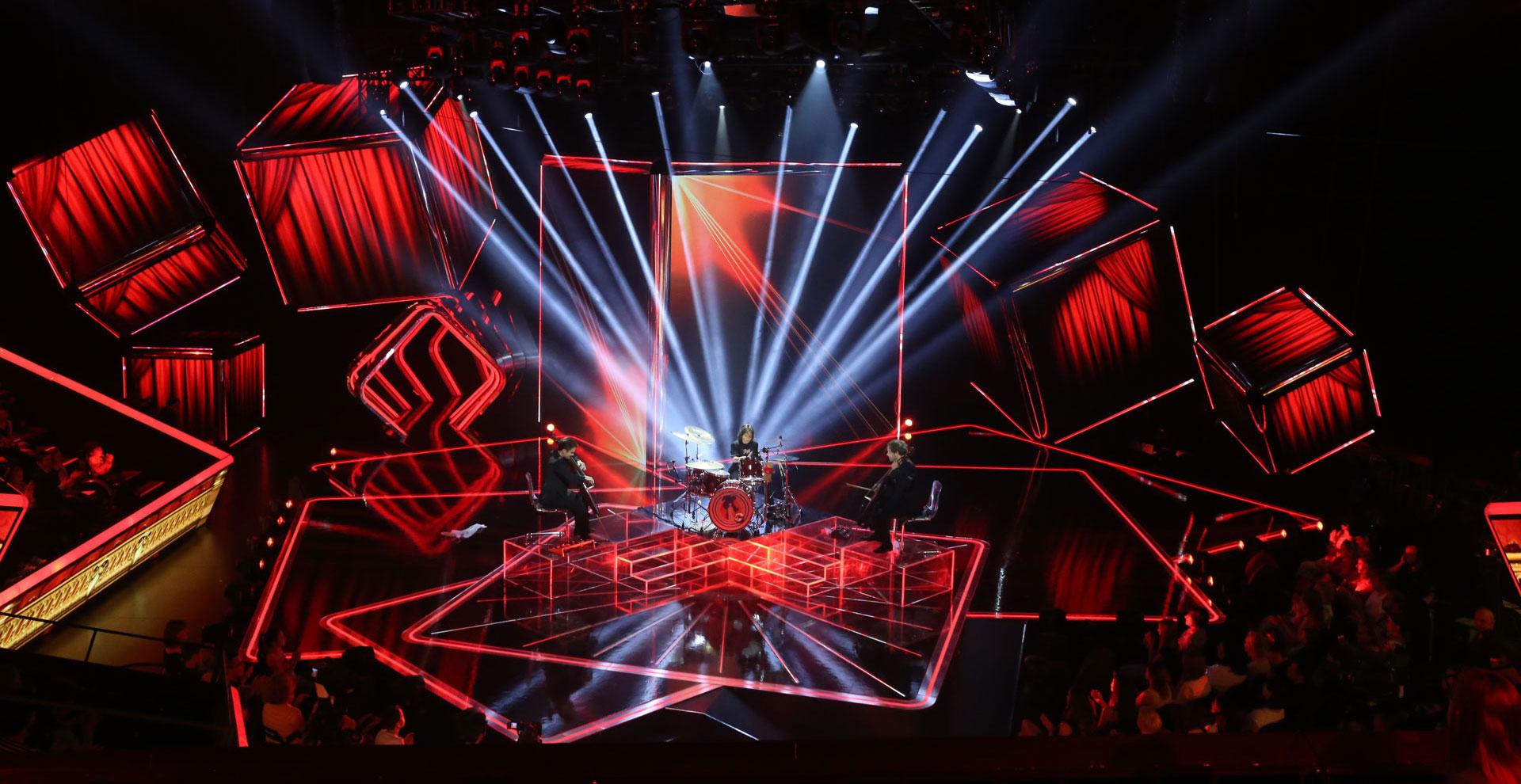 ledblade tv show visuals
