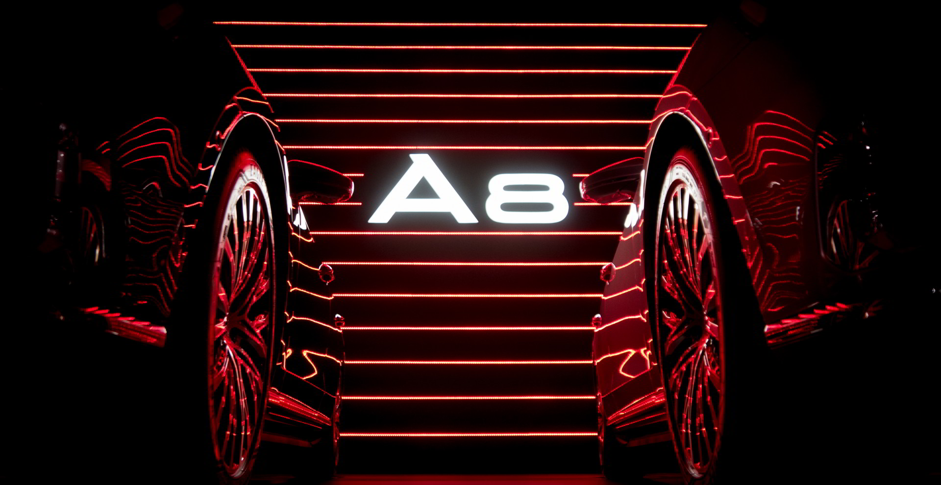 Audi A8 promo with ledblade