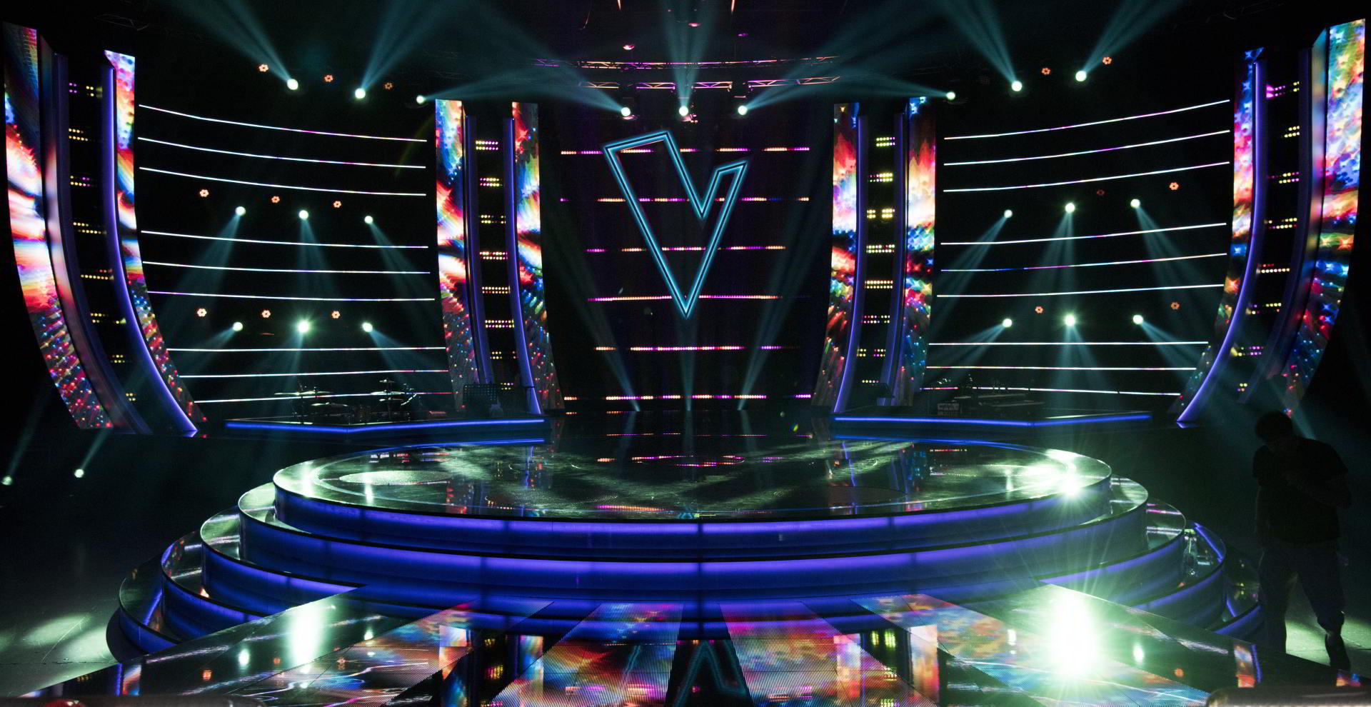 The Voice TV Show visuals